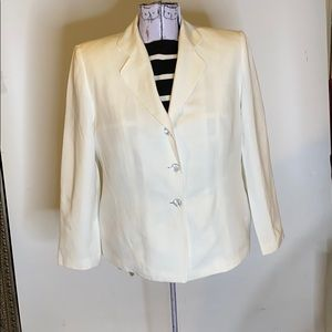 Valerie Stevens linen jacket